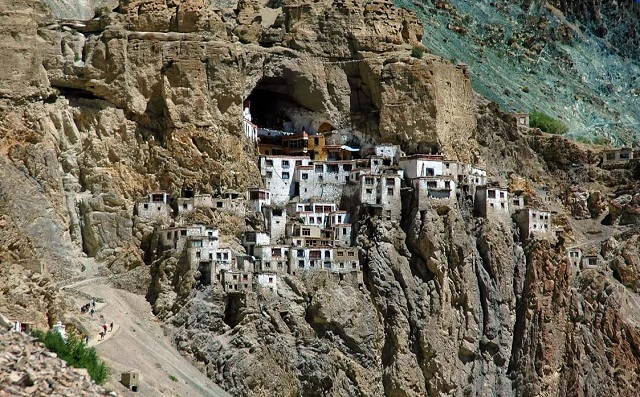 Phugtal Gompa - Top 8 Interesting Places around the World