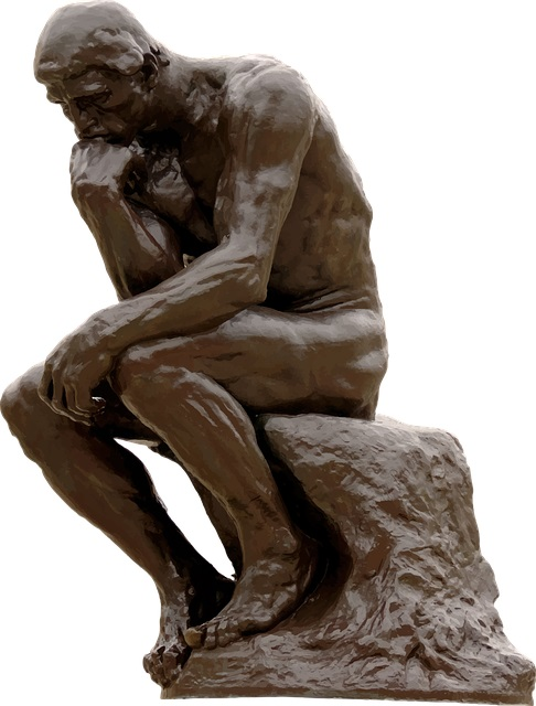 The-Thinking-Man-Statue-Paris-France